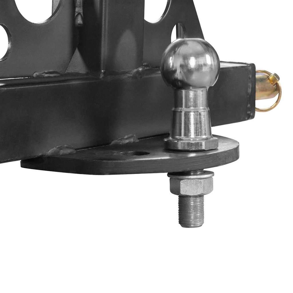 Heckkreuz für Dreipunktaufnahme 810 mm breit schwarz Ackerschiene Unterlenker