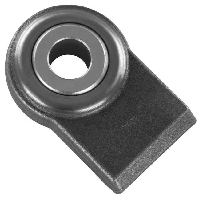 Unterlenker Anschweißende | Kat 2 | Ø 28,4 mm | 35 mm Kugelstärke