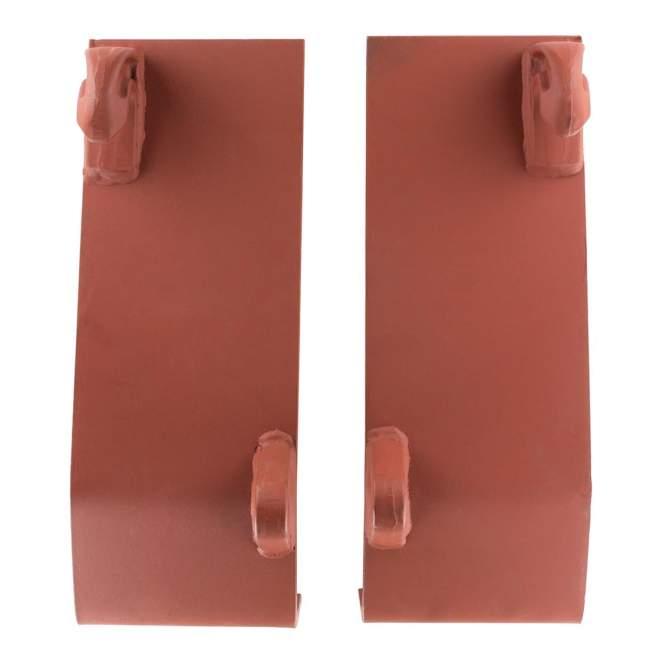 Koppelplatten | doppelt gekantet | grundiert | Euroaufnahme