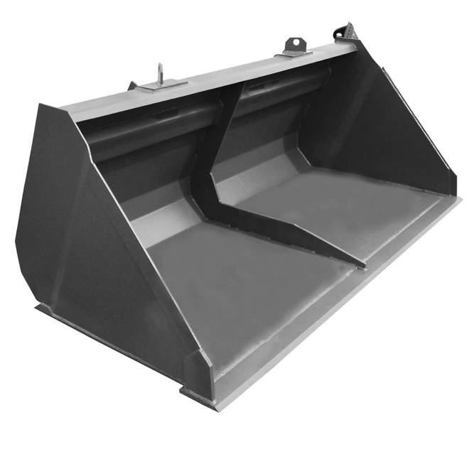 Universalschaufel | 1250 mm breit | konische Bauform | 480 l Volumen