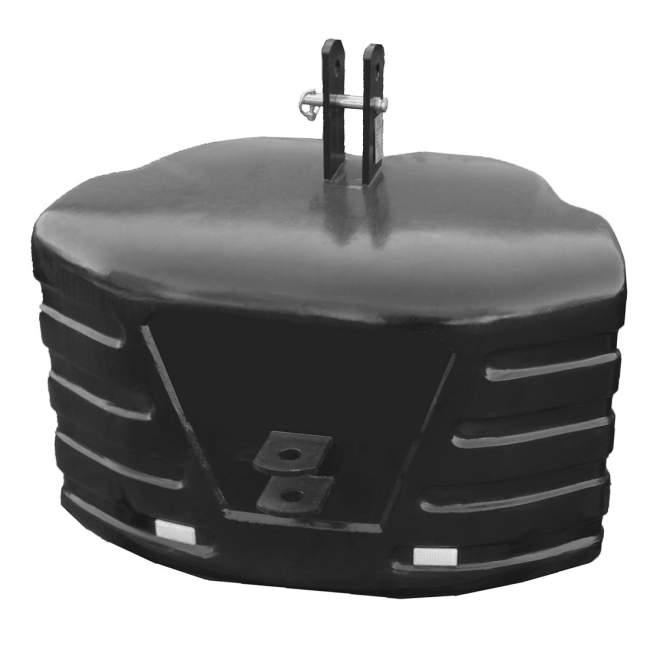 Schlepper Betongewicht | 1400 kg | Kat 3/2 | Front- & Heckgewicht
