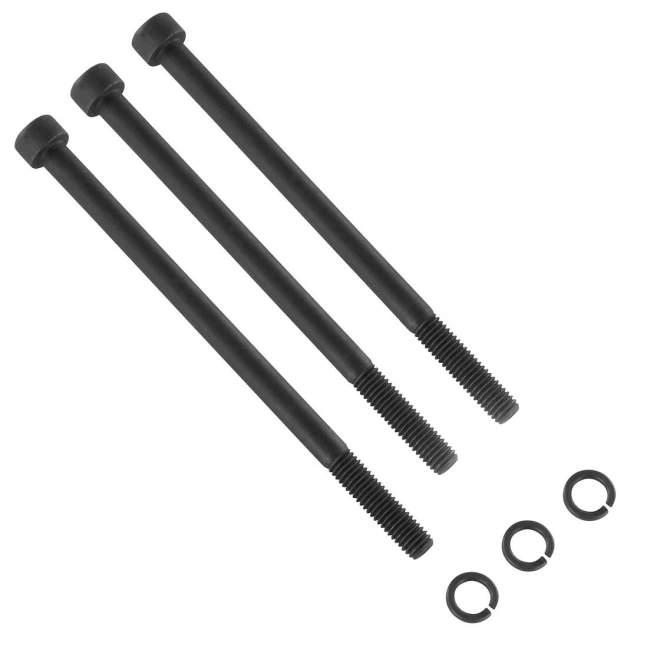 Schraubensatz | 2x M8 x 130 mm | 1x M8 x 140 mm  | für Endplatte des 2. Steuergerätes | passend zu Deutz-System 06