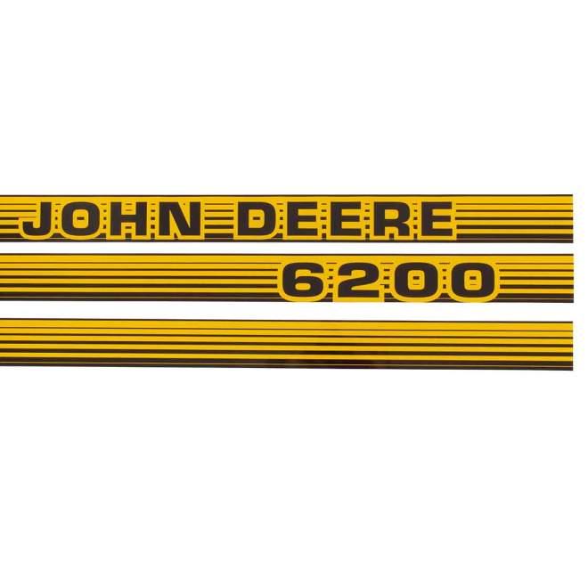 Aufklebersatz   John Deere 6200