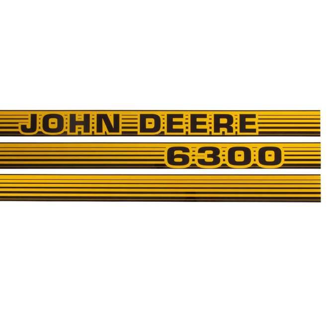 Aufklebersatz   John Deere 6300
