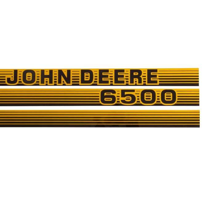 Aufklebersatz | John Deere 6500