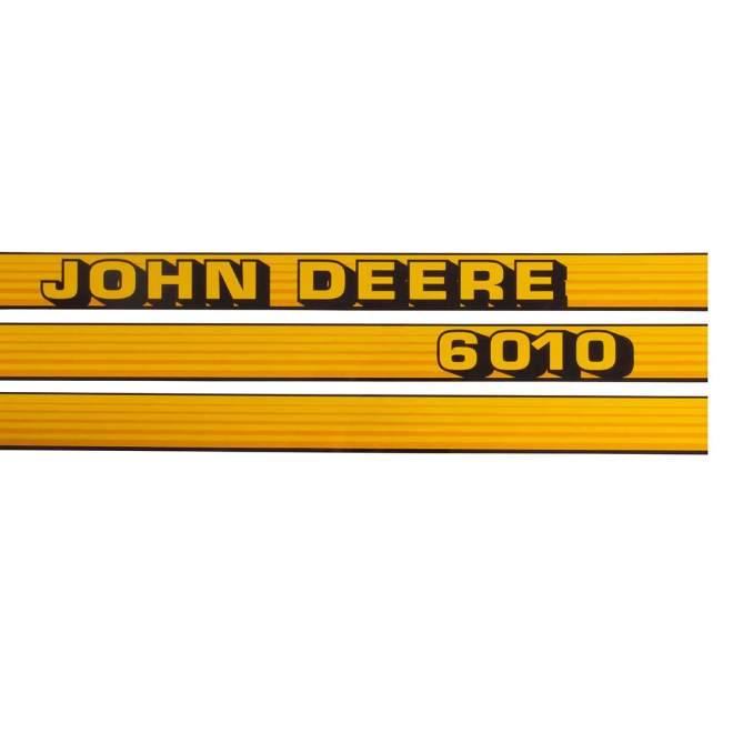 Aufklebersatz   John Deere 6010