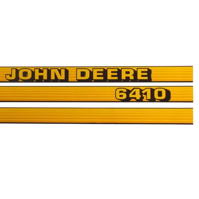 Aufklebersatz   John Deere 6410