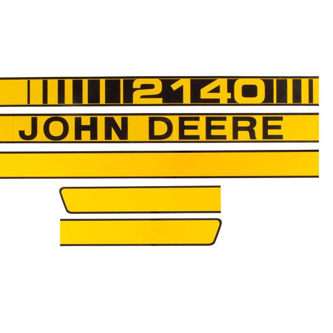 Aufklebersatz | John Deere 2140