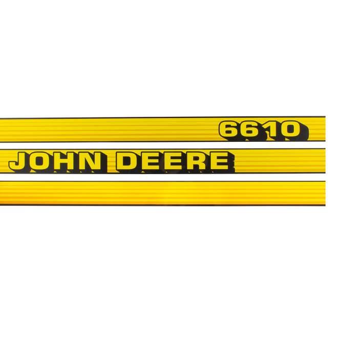 Aufklebersatz   John Deere 6610
