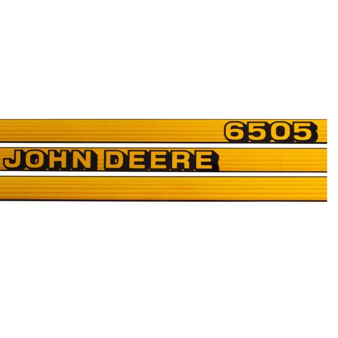 Aufklebersatz | John Deere 6505