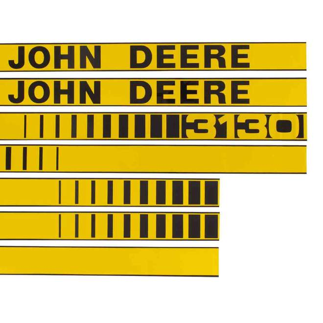 Aufklebersatz   John Deere 3130