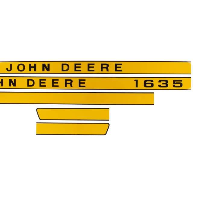 Aufklebersatz | John Deere 1635