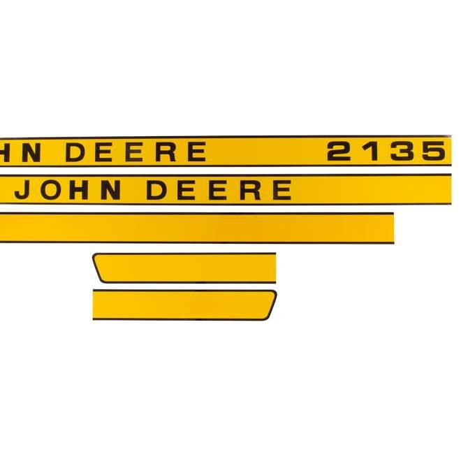 Aufklebersatz   John Deere 2135