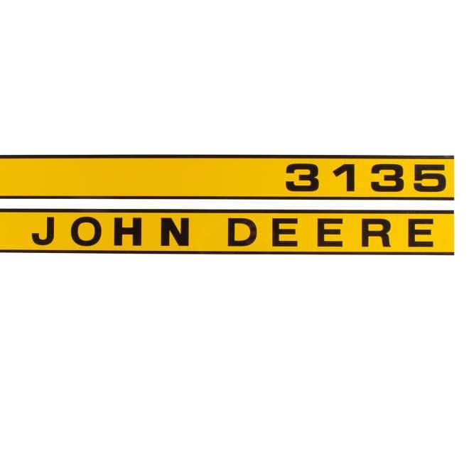 Aufklebersatz | John Deere 3135