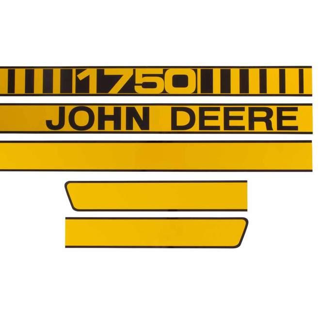 Aufklebersatz   John Deere 1750