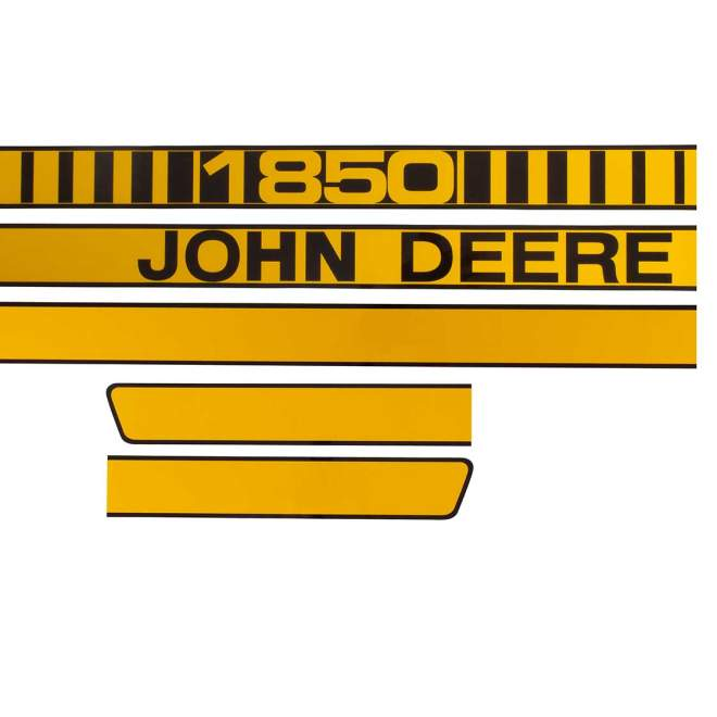 Aufklebersatz   John Deere 1850