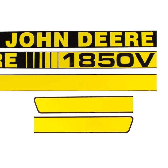 Aufklebersatz   John Deere 1850 V