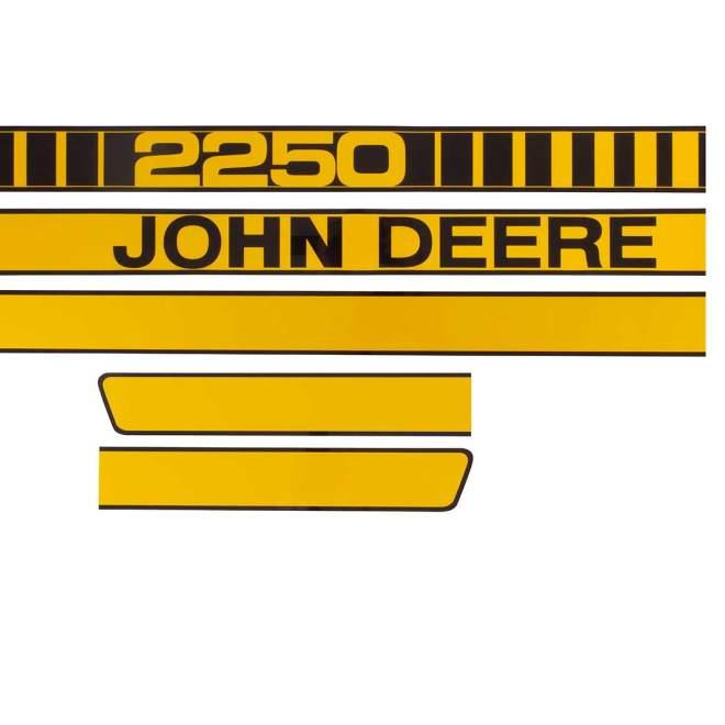 Aufklebersatz | John Deere 2250