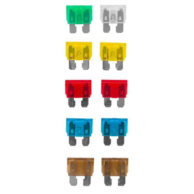 Flachstecksicherungsset | DIN 72581/3 | 10 Stück