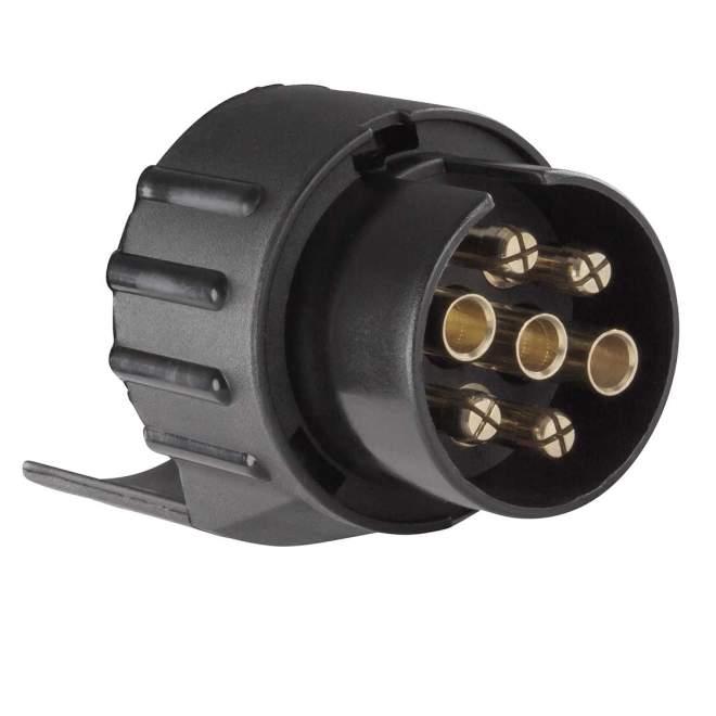 Adapter | 7-polig auf 13-polig | Kunststoff | kurze Ausführung