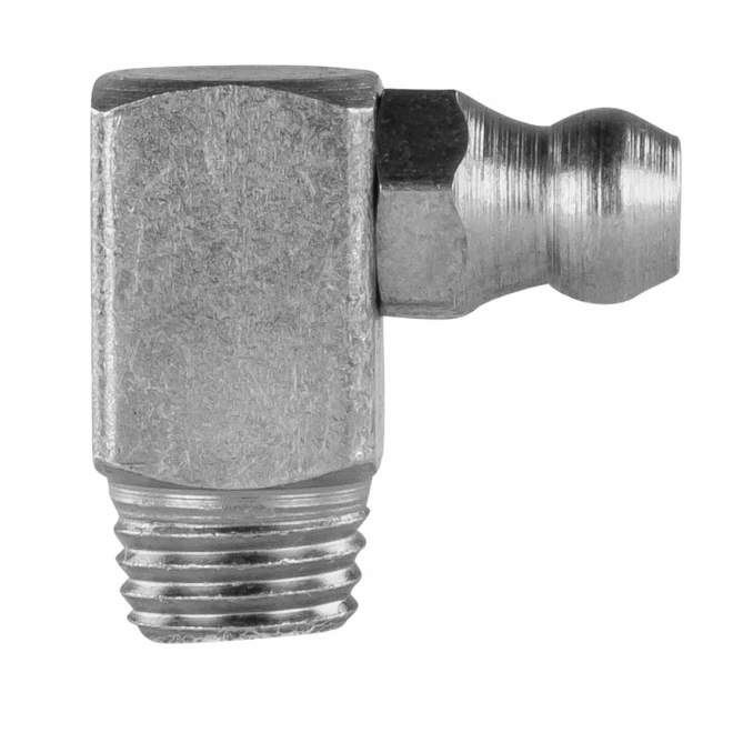 Schmiernippel   Typ C   H3M8 x 1 SFG   DIN 71412   90° abgewinkelt   Selbstformgewinde