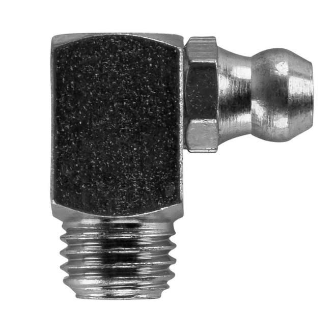 Schmiernippel | Typ C | H3M8 x 1 | DIN 71412 | 90° abgewinkelt