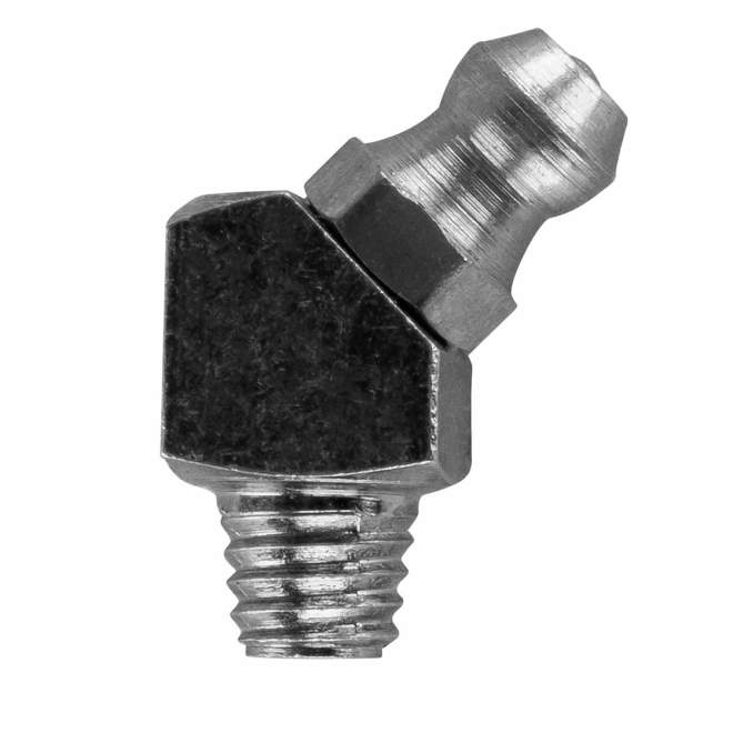 Schmiernippel   Typ B   H2M6 SFG   DIN 71412   45° abgewinkelt
