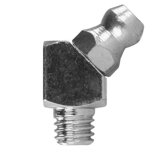 Schmiernippel | Typ B | H2M6 | DIN 71412 | 45° abgewinkelt