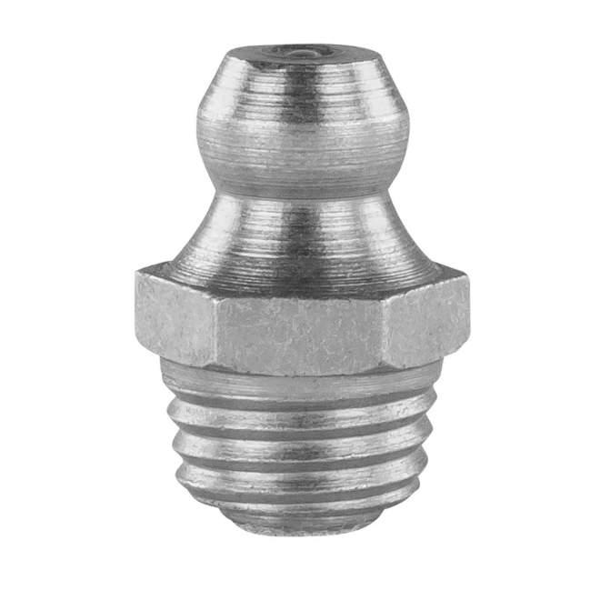Schmiernippel | Typ A | H1M8 x 1 SFG | DIN 71412 | gerade Ausführung | Selbstformgewinde